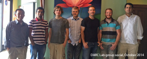 Researchers from the University of Utah's DARC Lab.